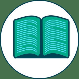 Ilustração de livro